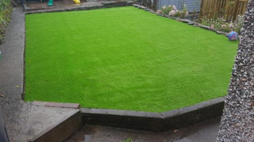 6. Artificial grass play ground